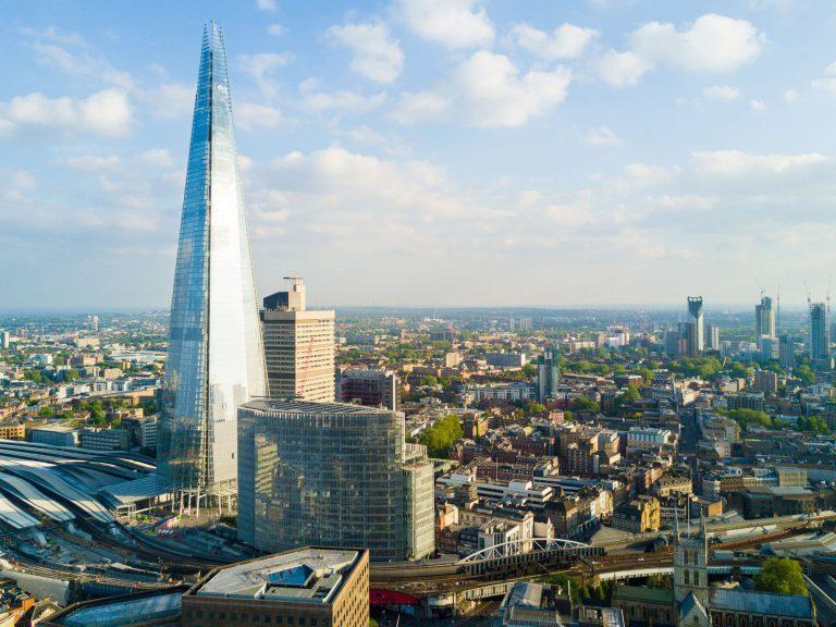 Skyscrapper Shard London