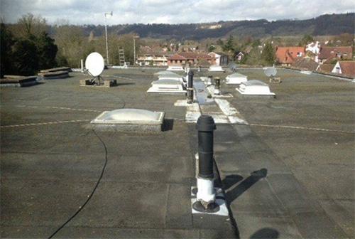 Re-Waterproof Leaking Flat Roofs