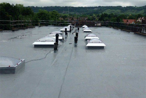 Re-Waterproof Leaking Flat Roofs