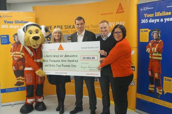 nNews - Sika Cycle Fundraising Total