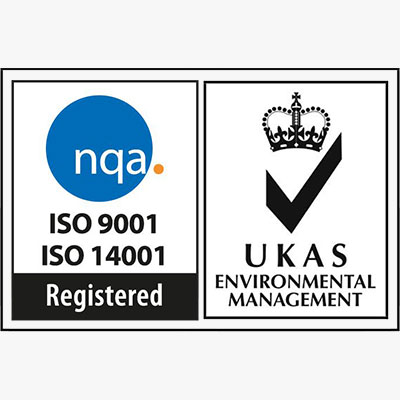 Accreditation - ISO 9001 & 14001