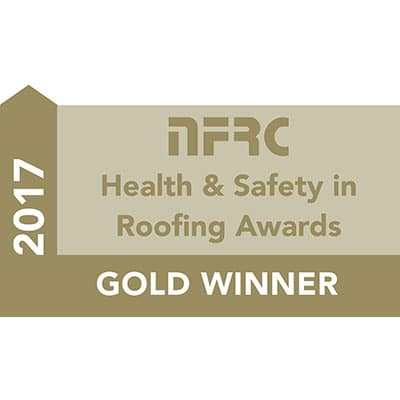 Accreditation - NFRC Health & Safety Award Gold - Logo