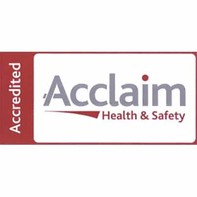 Accreditation - Acclaim Health & Safety