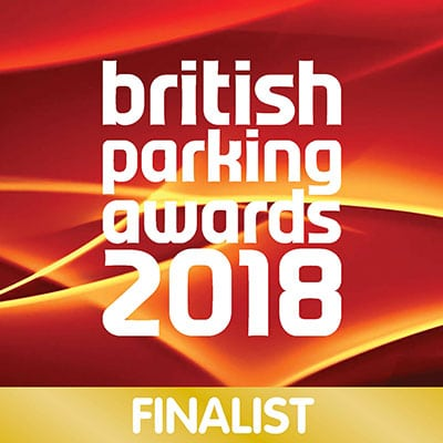 British Parking Awards 2018 - Finalist - Logo