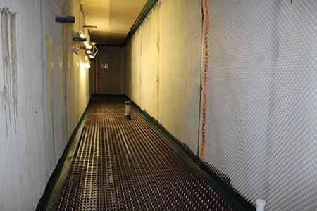 Cemplas - Services - Basements & Waterproofing - Cavity Drainage - Belgrave Square - Image 1