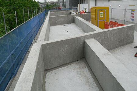 Cemplas - Services - Basements & Waterproofing - Podium Waterproofing - Hale Village - Image 1