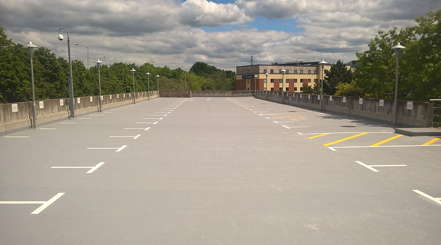 Cemplas - Services - Car Park Refurbishment - Image 1 - Berkshire Place, Winnersh