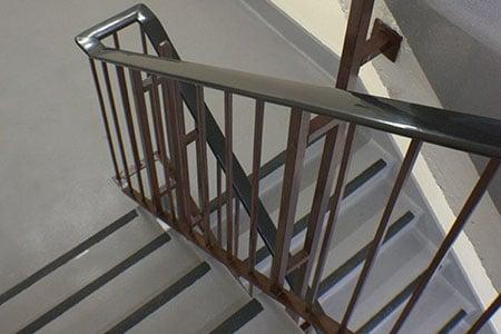 Cemplas - Services - Car Park Refurbishment - Stairwells & Lobbies - Edinburgh Ho - Image 1
