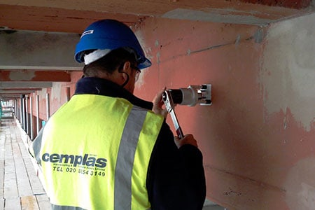 Cemplas - Services - Car Park Refurbishment - Testing & Investigation - Image 1