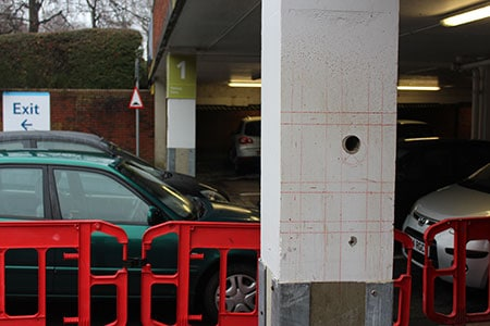 Cemplas - Services - Car Park Refurbishment - Testing & Investigation - Image 2