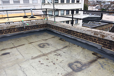 Cemplas - Services - Liquid Applied Roofing - Asphalt - Elizabeth Street - Image 1