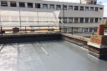 Cemplas - Services - Liquid Applied Roofing - Asphalt - Elizabeth Street - Image 2