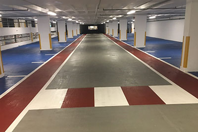 Cemplas - Case Study - Car Park Refurbishment - Johnson & Johnson - After 2