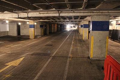 Cemplas - Case Study - Car Park Refurbishment - Johnson & Johnson - Before 1