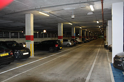 Cemplas - Case Study - Car Park Refurbishment - Johnson & Johnson - Before 2
