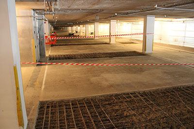 ccCemplas - Case Study - Car Park Refurbishment - Johnson & Johnson - Before 3