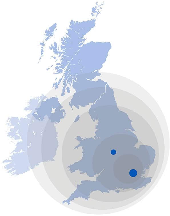 Cemplas - Team - UK Map Image
