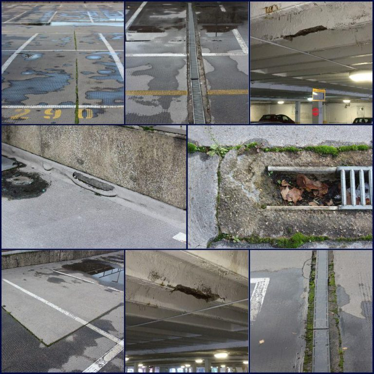Splits to Asphalt Parking Decks…