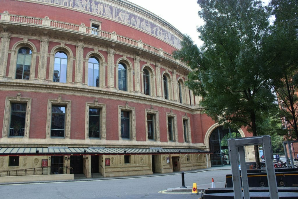 Royal Albert Hall, Smoking Gallery