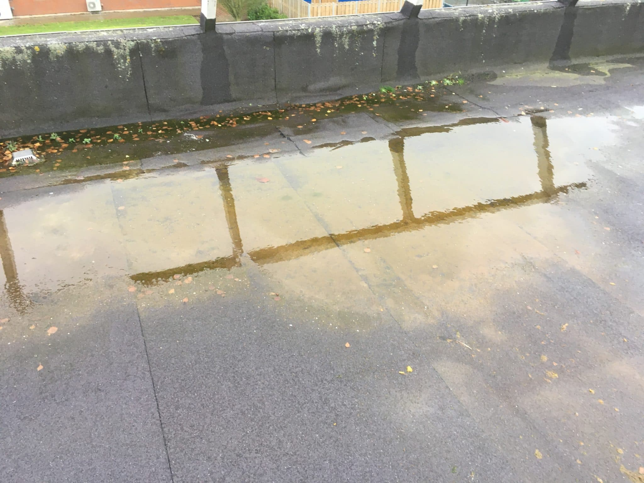 Ponding Issues