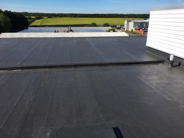 100% Seamless & Watertight Application