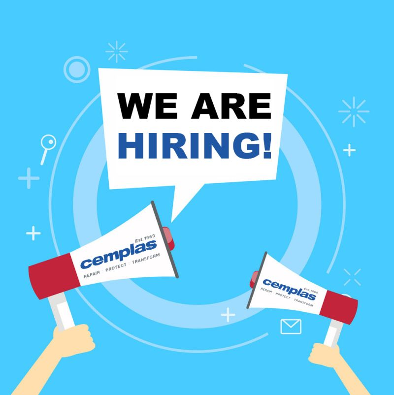 JOIN THE CEMPLAS TEAM - APPLY NOW!